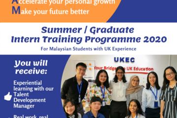 BEAM is back - UKEC Intern Training Programme
